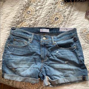 Loft denim shorts 2